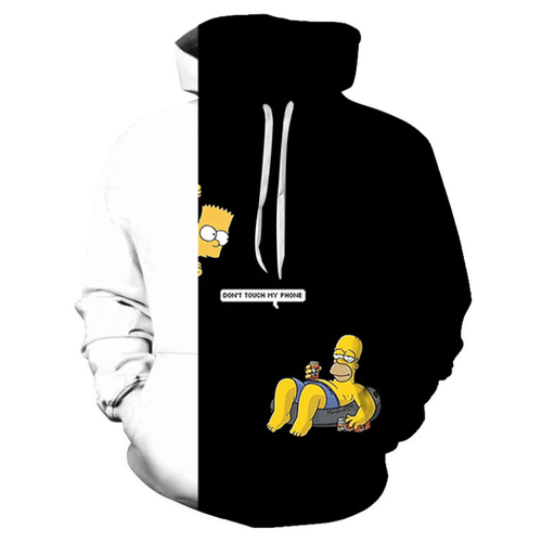 The Simpsons Anime Hoodie - BZ