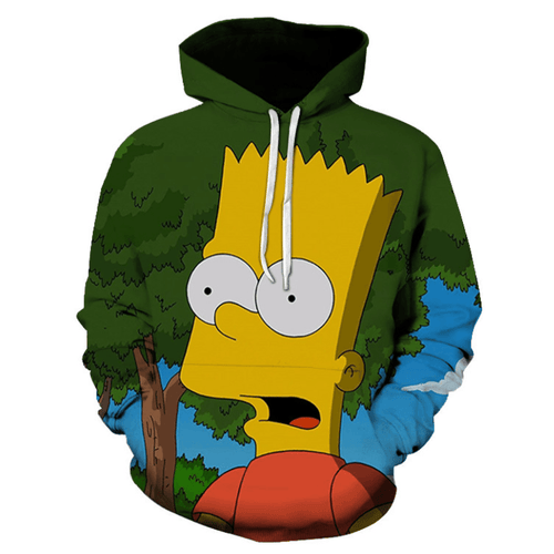 The Simpsons Anime Hoodie - CB
