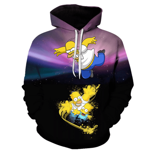 The Simpsons Anime Hoodie - CT