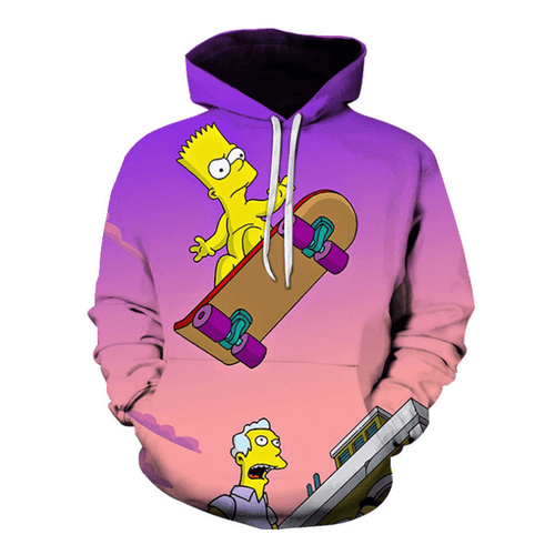 The Simpsons Anime Hoodie - V