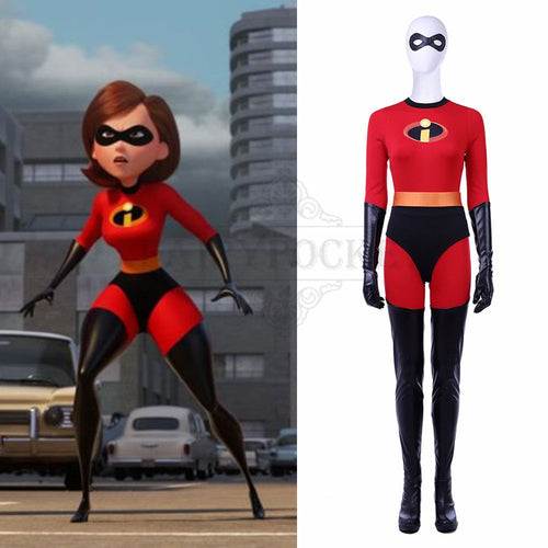 The Incredibles 2 Helen Parr Cosplay Costume