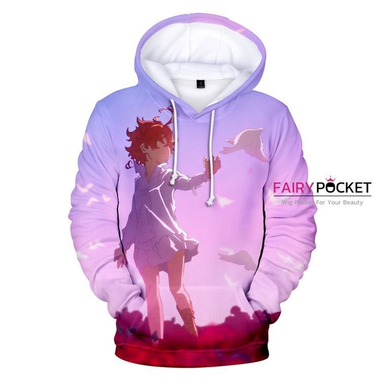 The Promised Neverland Emma Hoodie - B
