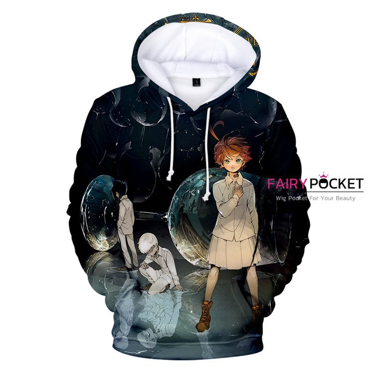 The Promised Neverland Emma, Norman & Ray Hoodie - C
