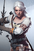 The Witcher: Wild Hunt Ciri Cosplay Wig