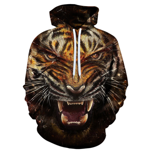 Tiger Animal Hoodie - BB