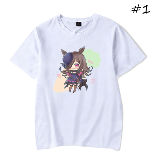 Uma Musume Pretty Derby Anime T-Shirt (5 Colors) - D
