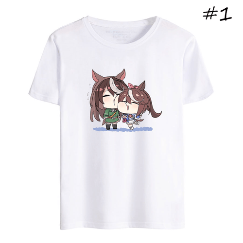 Uma Musume Pretty Derby Anime T-Shirt (5 Colors) - H