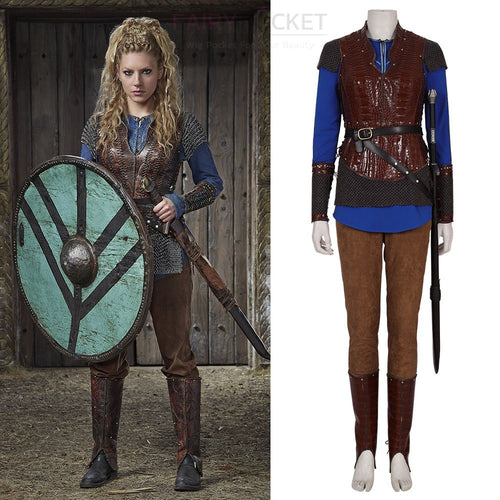 Vikings Lagertha Cosplay Costume