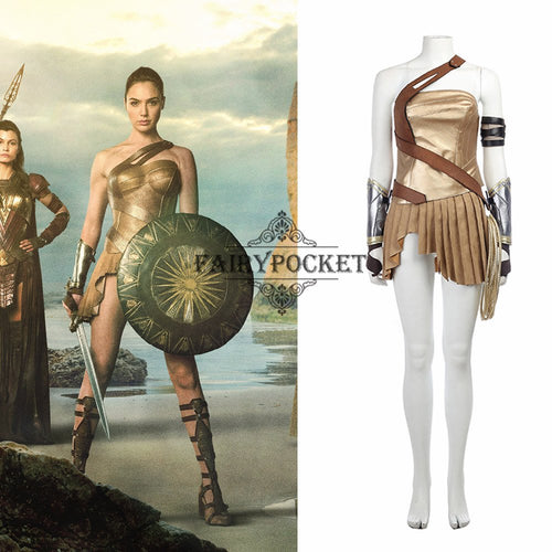 Wonder Woman Diana Prince Cosplay Costume - C
