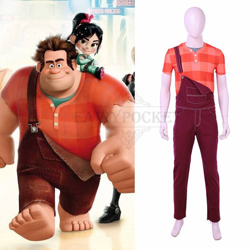 Wreck-It Ralph Cosplay Costume