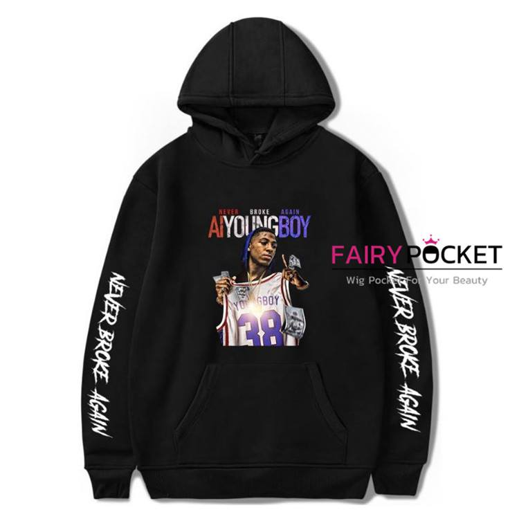YoungBoy Never Broke Again Hoodie (6 Colors) - D
