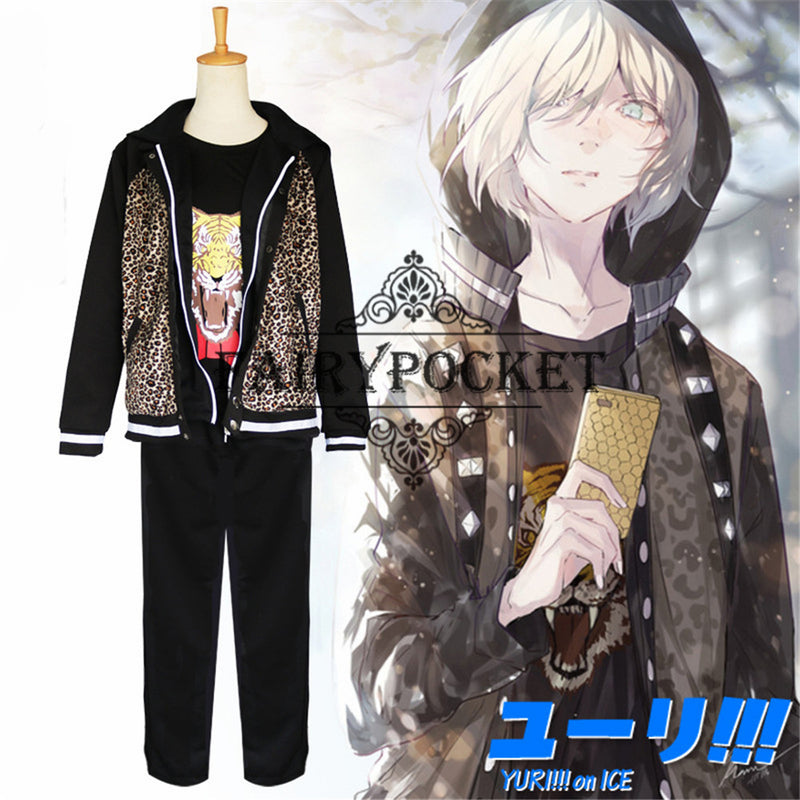 Yuri on ICE Yuri Plisetsky Anime Cosplay Costume