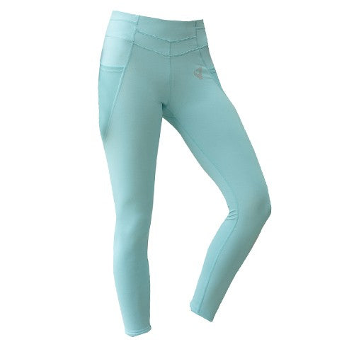 Zivame B-yond Training Legging- Aqua Blue