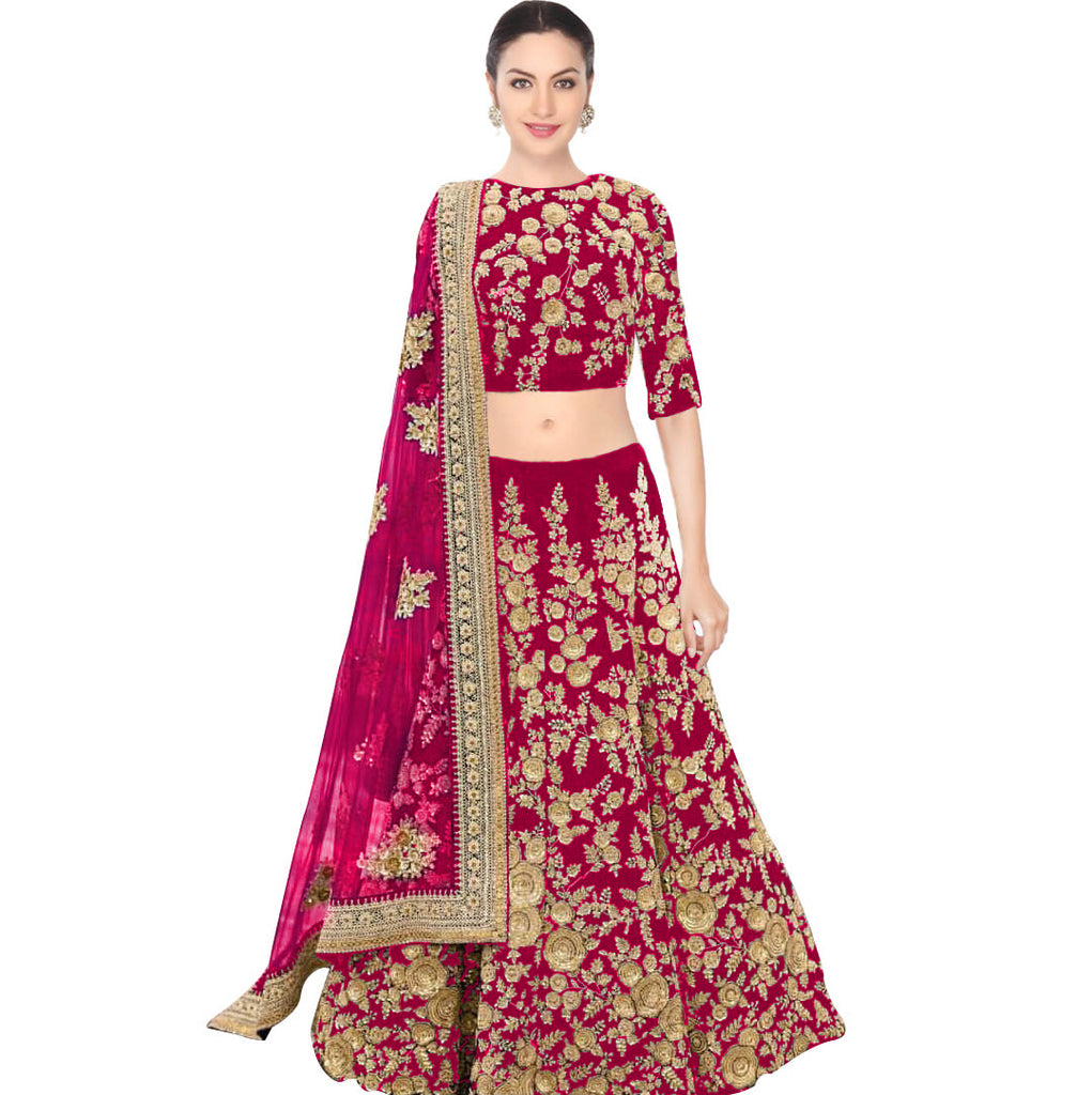 Pink Wedding Designer/Bridal Lehenga