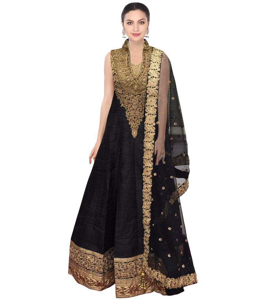 Black Wedding Designer/Bridal Lehenga