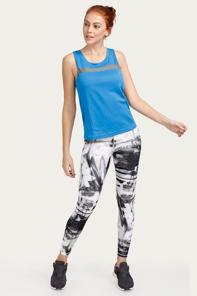Zivame Relaxed Top Sports - Blue