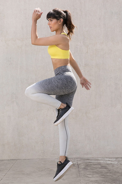 Zivame Skin Fit Training Legging- Grey