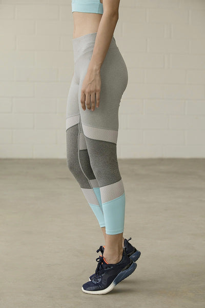Zivame B-yond Skin Fit Training Legging- Grey