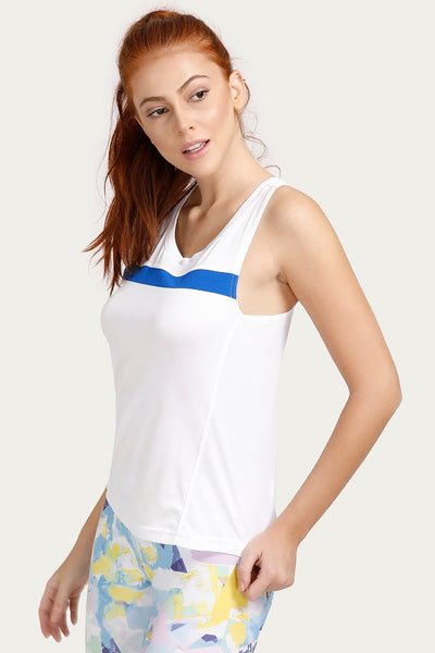 Zivame Relaxed Top Sports - White