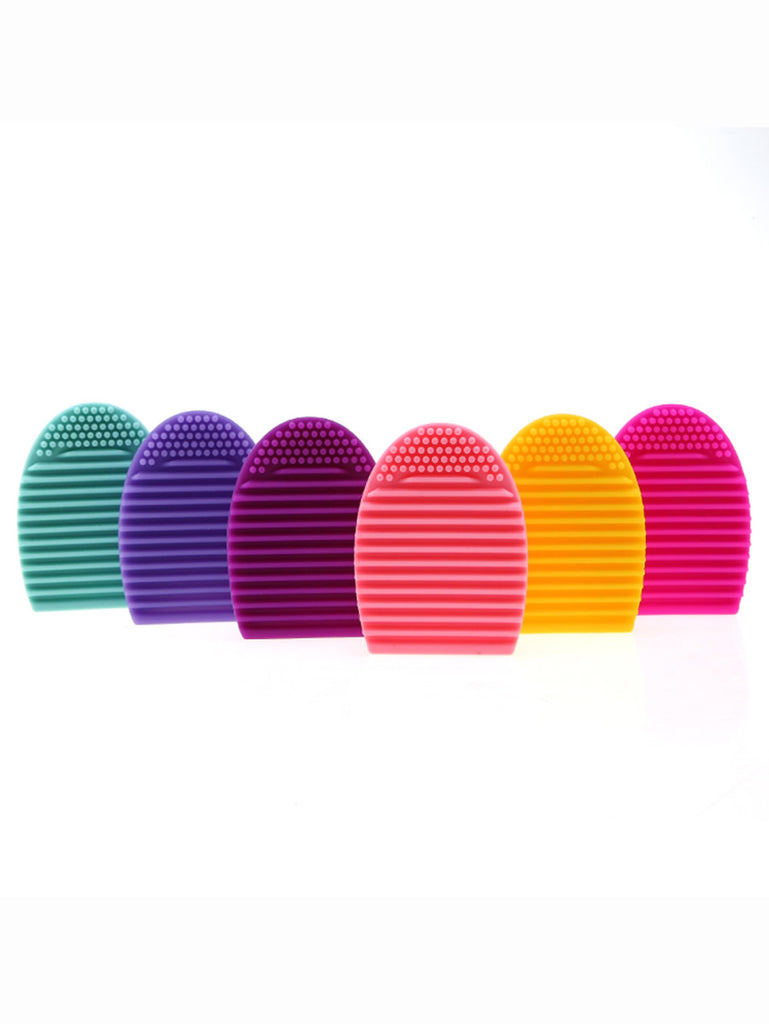Random Color 1pc Cleaning Makeup Brush