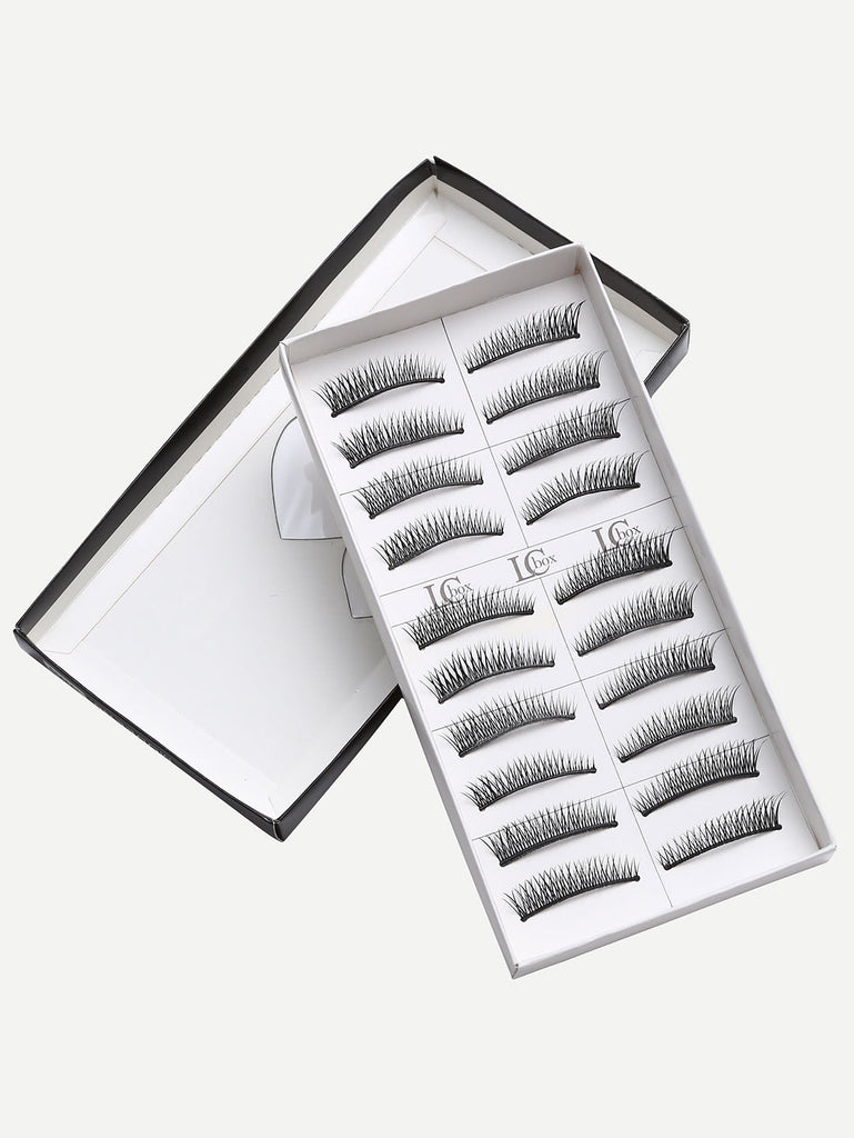 Natural Short Straight False Eyelashes