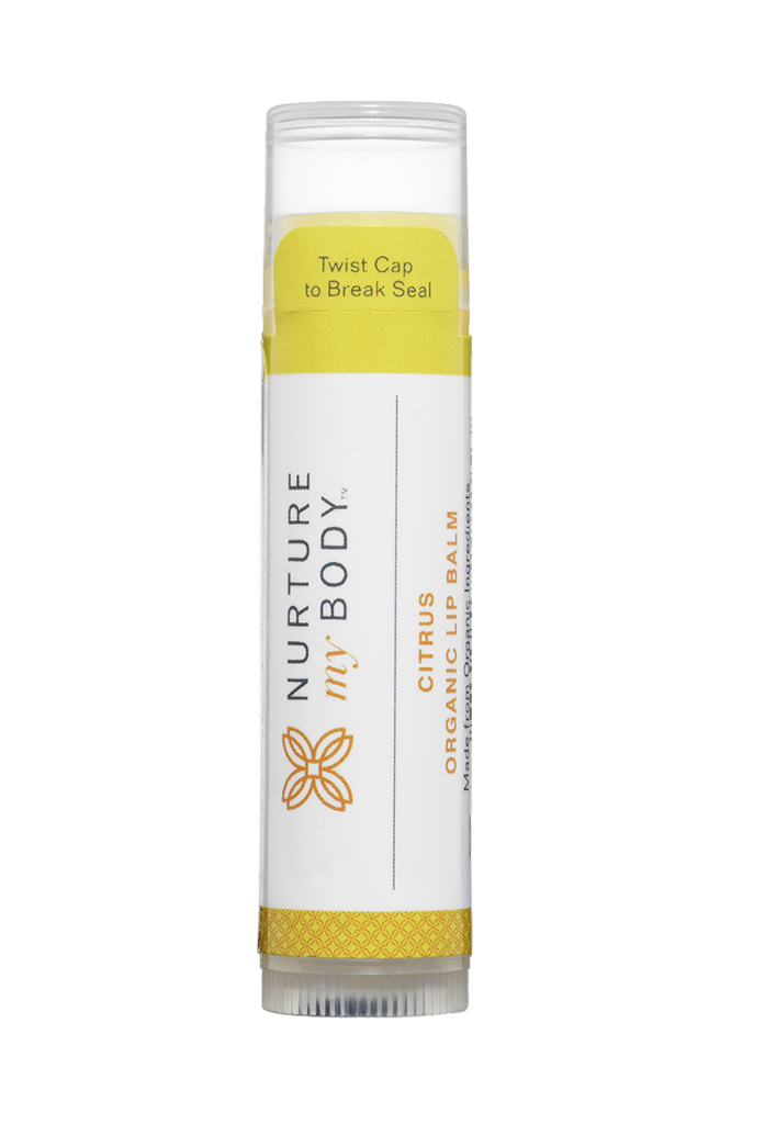 NURTURE MY BODY Citrus Organic Lip Balm 有機潤唇膏 (檸檬)