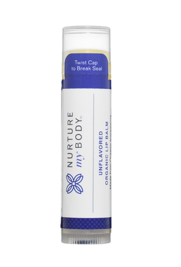 NURTURE MY BODY Unflavored Organic Lip Balm 有機潤唇膏 (無味)