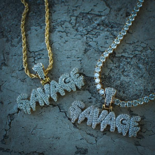 21 Savage Necklace - The Jewelry Plug