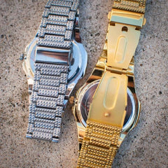 Iced Out Royal Watch - The Jewelry Plug