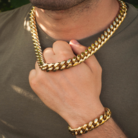 Miami Cuban Link Chain + Bracelet Bundle - The Jewelry Plug
