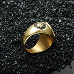 Gold Illuminati Ring - The Jewelry Plug