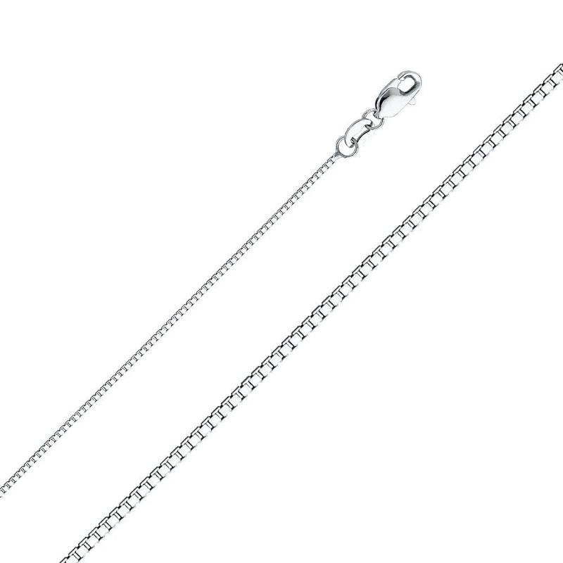 925 Sterling Silver Box Chain - The Jewelry Plug