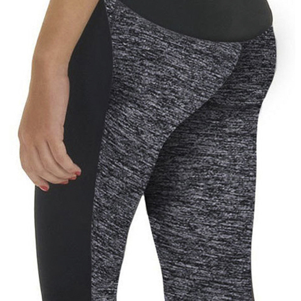 2017  Women's Leggings Two-Sided Fitness High Waist Elastic   (US) - peaceitout