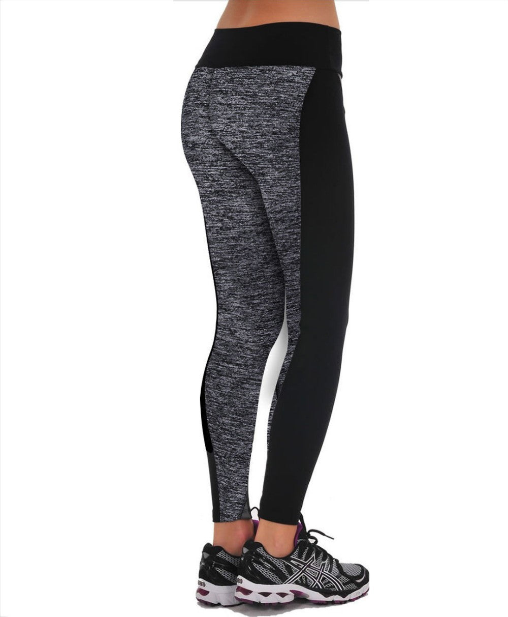 2017  Women's Leggings Two-Sided Fitness High Waist Elastic   (US)