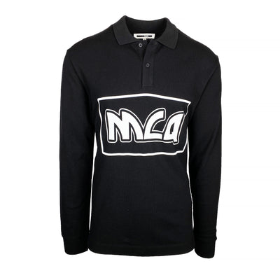 Alexander McQueen MCQ Long Sleeved Polo - DANYOUNGUK
