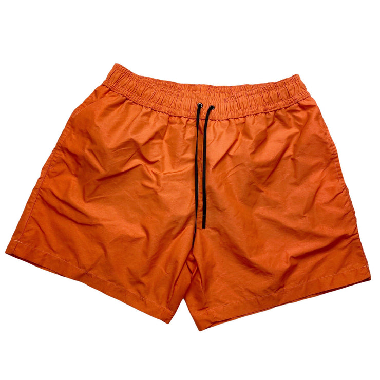 Bottega Veneta Orange All Over Print Swimshorts - DANYOUNGUK