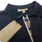 Burberry Black London Polo Polo Shirt Burberry