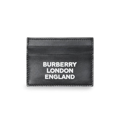 Burberry London Black Leather Card Holder - DANYOUNGUK