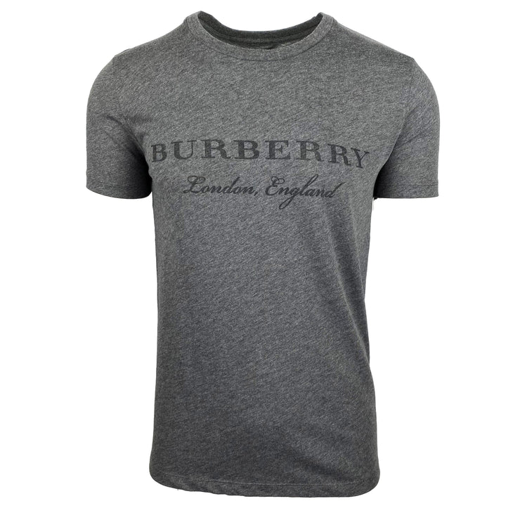 Burberry London Grey Logo T-Shirt - DANYOUNGUK