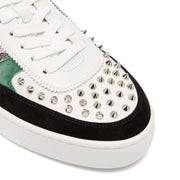 Christian Louboutin Happy Rui Spiked Trainers - DANYOUNGUK