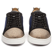 Christian Louboutin Louis Junior Strass Orlato Trainers - DANYOUNGUK