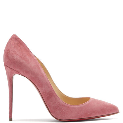 Christian Louboutin Pigalle Follies 100 Suede Heels - DANYOUNGUK