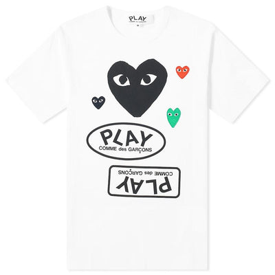 Commes Des Garcon Play T-Shirt T-Shirt CDG