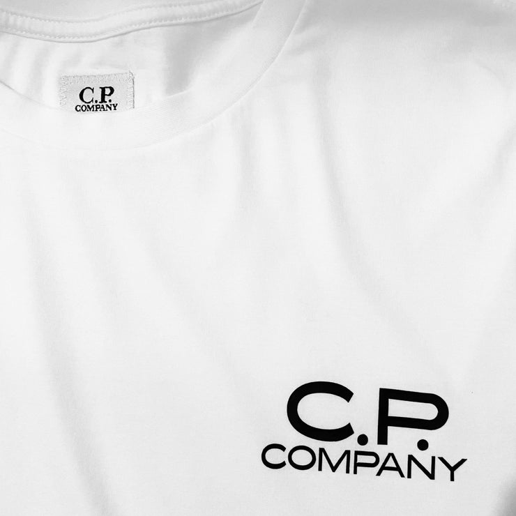 CP Company 019 White T-Shirt - DANYOUNGUK