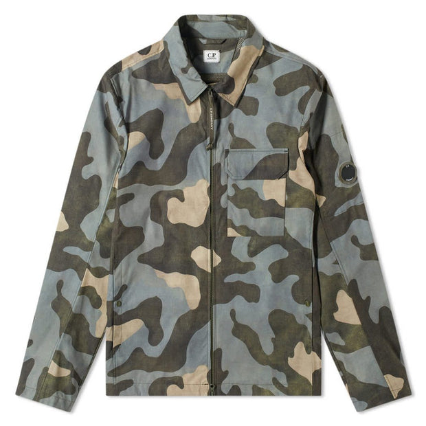 CP Company Arm Lens Camouflage Overshirt - DANYOUNGUK