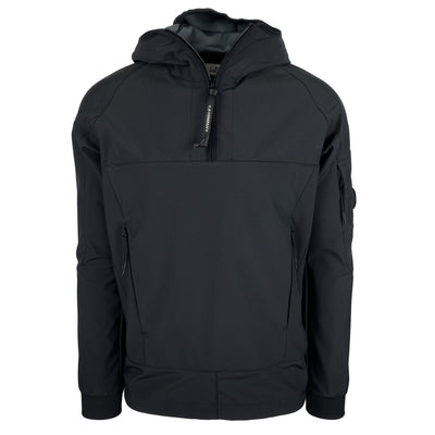 CP Company Black Soft Shell Pullover - DANYOUNGUK
