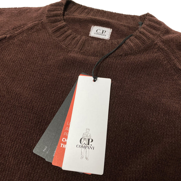 C.P. Company Chenille Knit Lens Viewer Sweatshirt - DANYOUNGUK