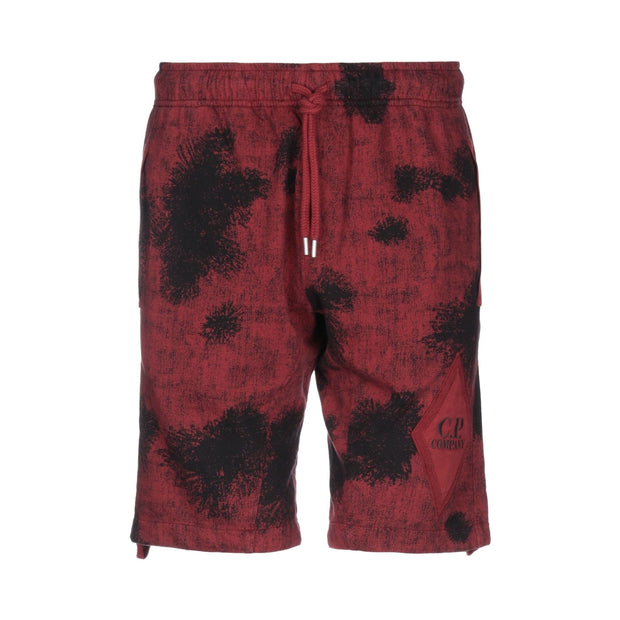CP Company Red Camouflage Shorts - DANYOUNGUK