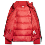 CP Company Red Recycled Down Jacket Coat CP Company