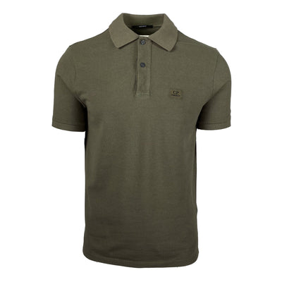 CP Company Regular Fit Short Sleeve Polo - DANYOUNGUK